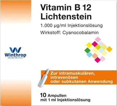 Vitamin B12 1000 µg Lichtenstein Ampullen Apotalde Ihre