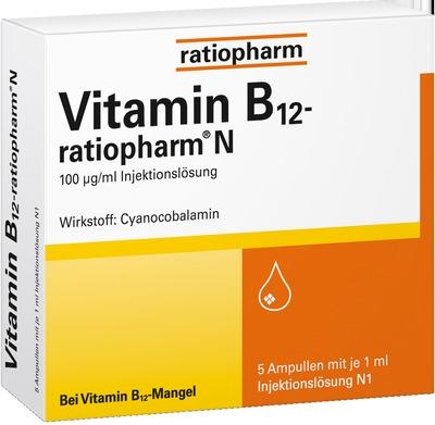 Vitamin B12 Ratiopharm N Ampullen Apotalde Ihre Versandapotheke