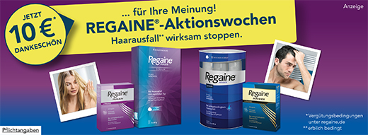 Regaine-Aktionswochen