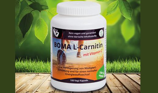 L Carnitin Liquidia vor und nach Gewichtsverlust