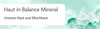 Haut in Balance Mineral