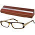 NEW YORK Brille Havana-gold +2,00 dpt