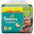 PAMPERS Baby Dry Gr.5+ junior plus 13-25kg Jumbo