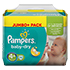 PAMPERS Baby Dry Gr.4+ maxi plus 9-20kg Jumbo+ Pack