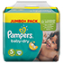 PAMPERS Baby Dry Gr.5 junior 11-23kg Jumbo plus P.