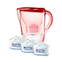 BRITA Marella Cool rose red Starterpaket