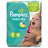 PAMPERS Baby Dry Gr.6 extra large 15+kg Sparpack