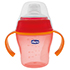 CHICCO Trinklernflasche 200 ml 6 M+ rot