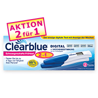 Clearblue Wochenbestimmung 1 2